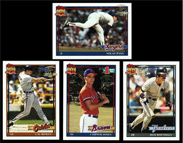1991 Topps Desert Storm Baseball Set