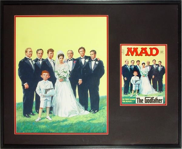 Godfather Mad Magazine Cover Art