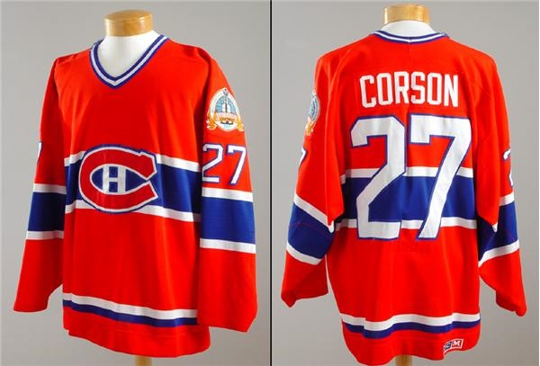 reputable site b8a3b 779b3 Shayne Corson Montreal Canadiens 1989 Stanley Cup Finals ...