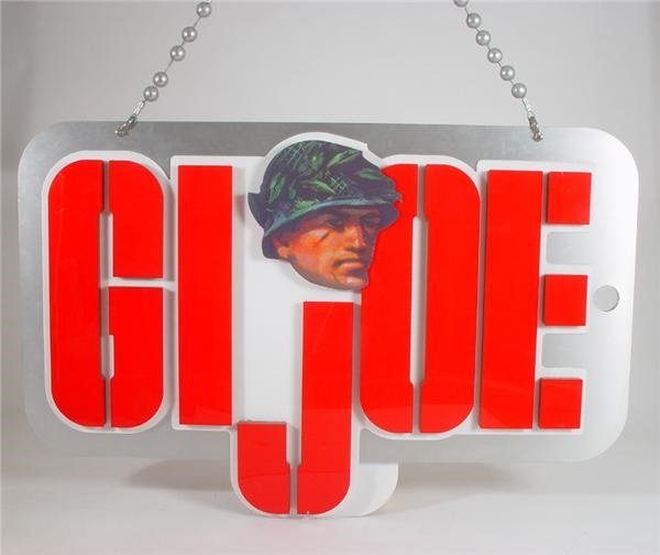"G.I. Joe Giant Store Display Dog Tags from FAO Schwartz (61x40"")"