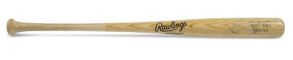 "1992 Barry Bonds All Star Game Used Bat (34"")"