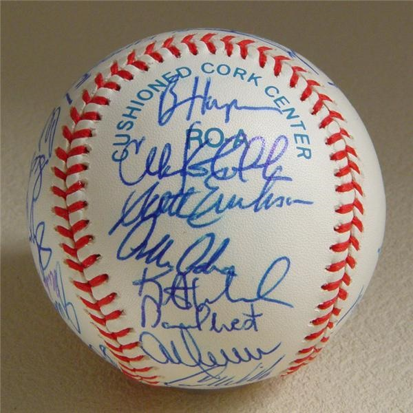 Autographed Baseballs - Internet Only (October 2004)