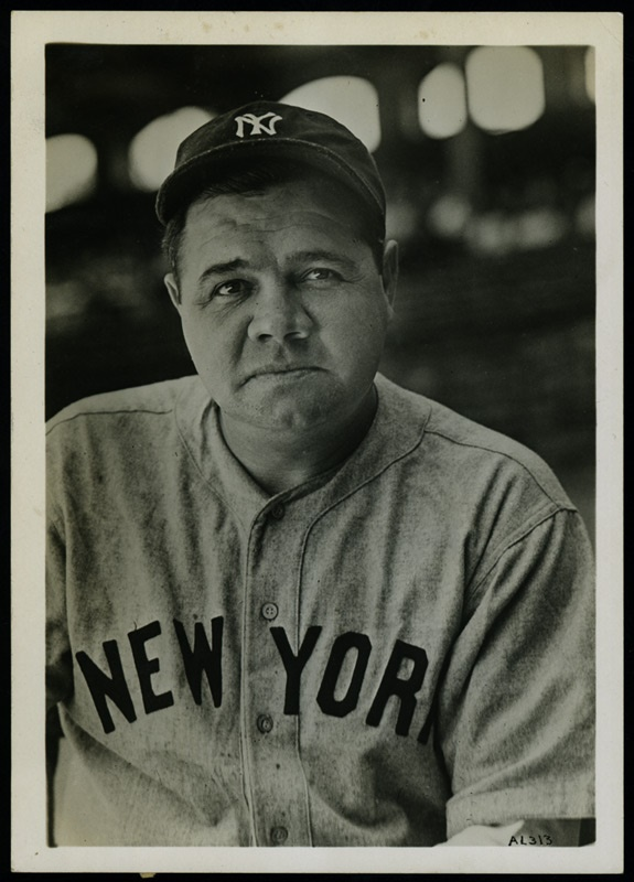Exceptional Babe Ruth Apex Photo