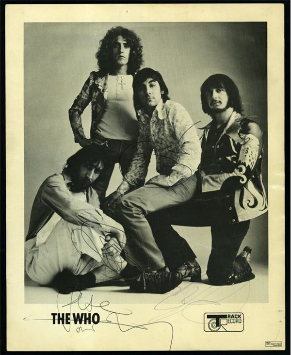 The Who Signed Photos