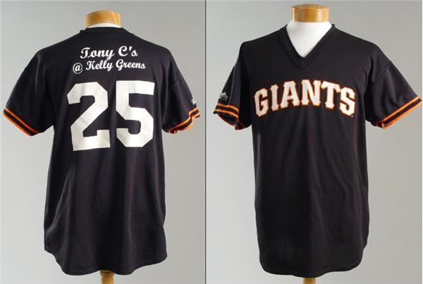 Tony Conigliaro Game Used Little League Jersey