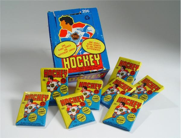 1980/81 OPC Hockey Wax Box
