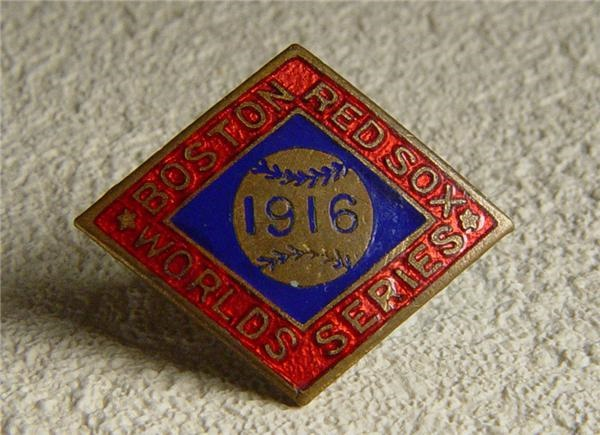 1916 Boston Red Sox World Series Pin