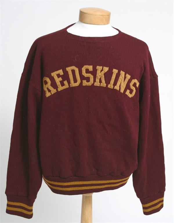 1947 Washington Redskins Coaches' Sweater