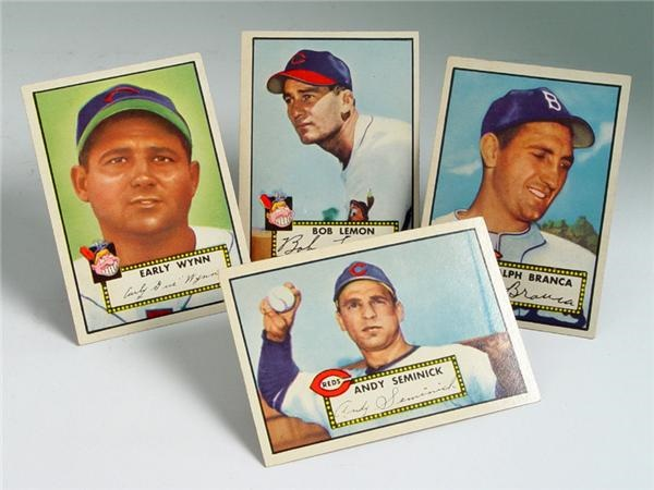 1952 Topps Baseball Semi High Number Near Complete Run (59/60)