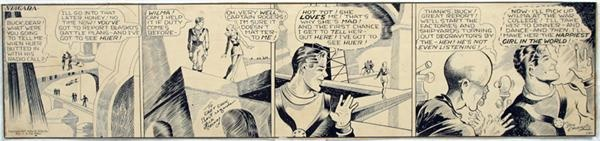 1937 Buck Rogers Original Comic Art (Daily)