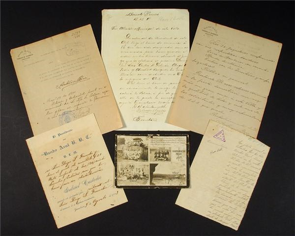 Early 20th Century Cuban Game Permits