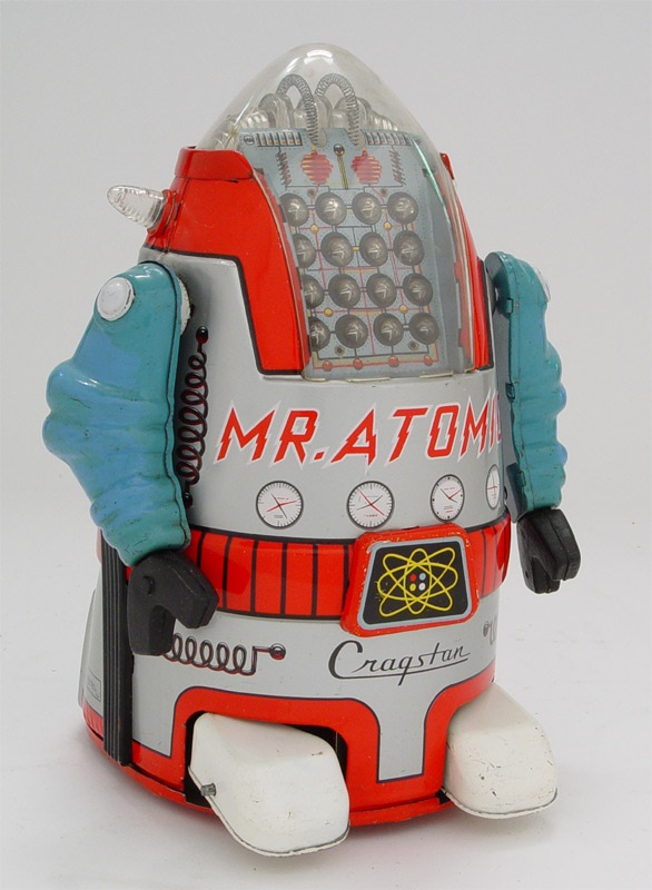 1950s Cragstan Mr. Atomic Robot