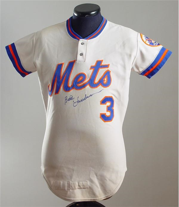 1978 Bud Harrelson Game Worn New York Mets Jersey