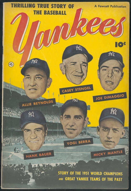 New York Yankees Comic Book