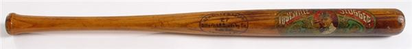 Circa 1910 Ty Cobb Decal Bat