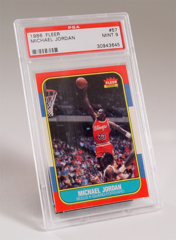 Michael Jordan PSA 9 Rookie Card