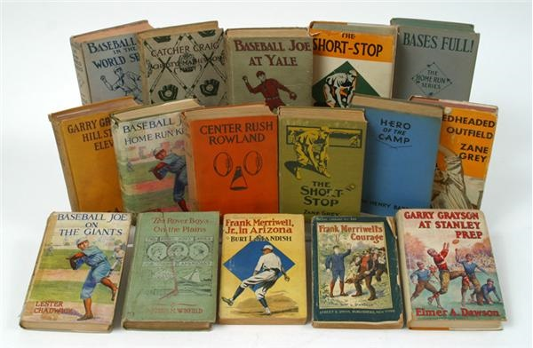 Vintage Basbeall Book Collection (16)