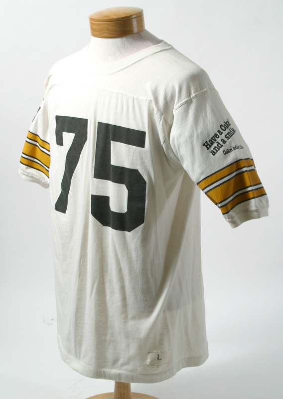 1970's Mean Joe Greene  Coca Cola promotional T-Shirt  Jersey