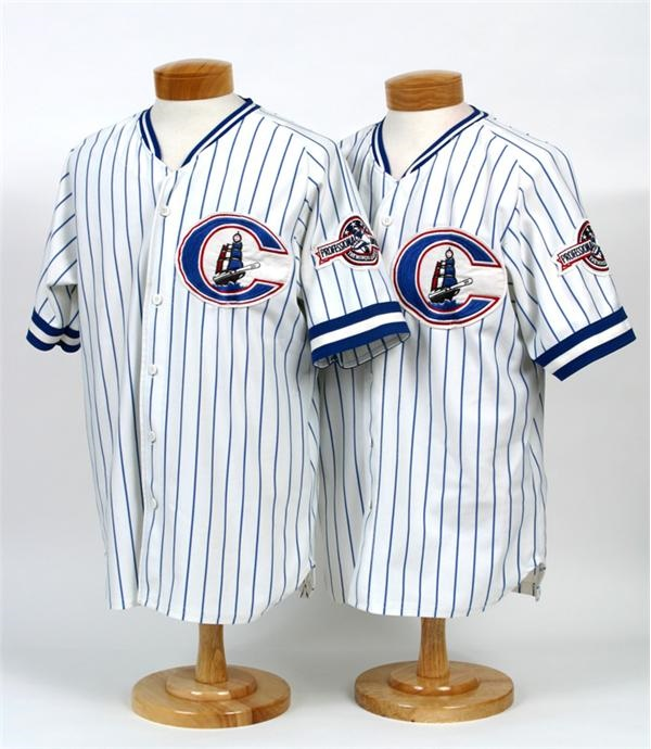 Mid 1990's Columbus Clippers Game Worn Jerseys
