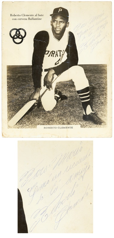 Clemente Ballantine Signed Photo