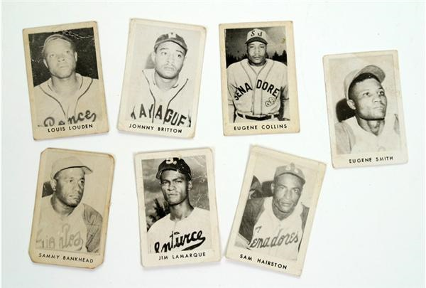 1940's Toleteros Cards of Negro Leaguers (7)