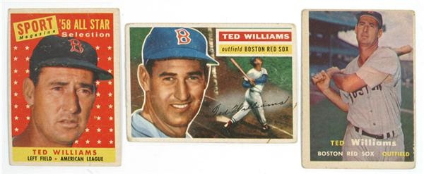 Ted Williams Card Collection (3)