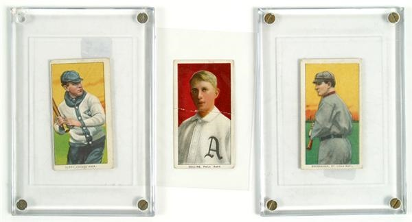 T206 Tobacco Card Lot (3)