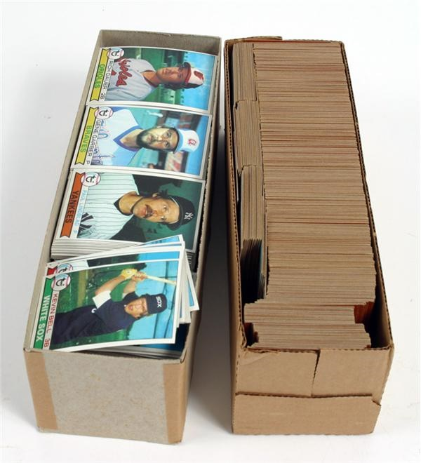 1978 & 1979 Topps Baseball Complete Set Lot