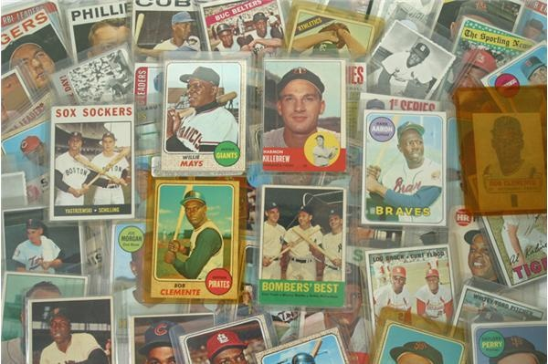 1960's Hall of Famer Card Collection (59)