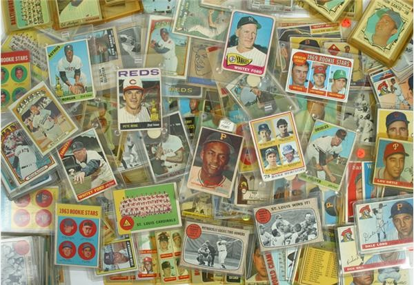 1950's/60's/70's Star Card Lot (150+)