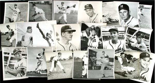 1950's Milwaukee Braves Press Photos (22)