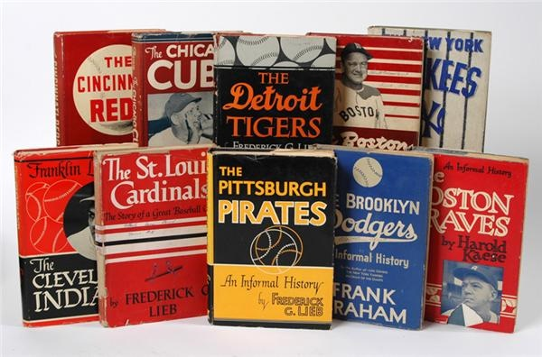 Putnam Baseball Book Collection (10)