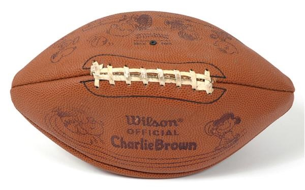 1960's Charlie Brown Football