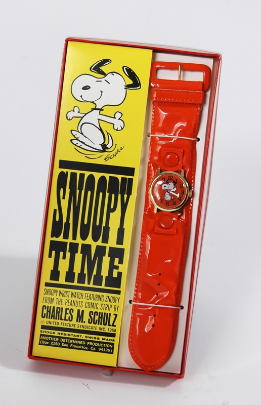 1958 Snoopy Watch In Original Box