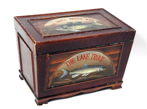 Handpainted Fishing Box (17