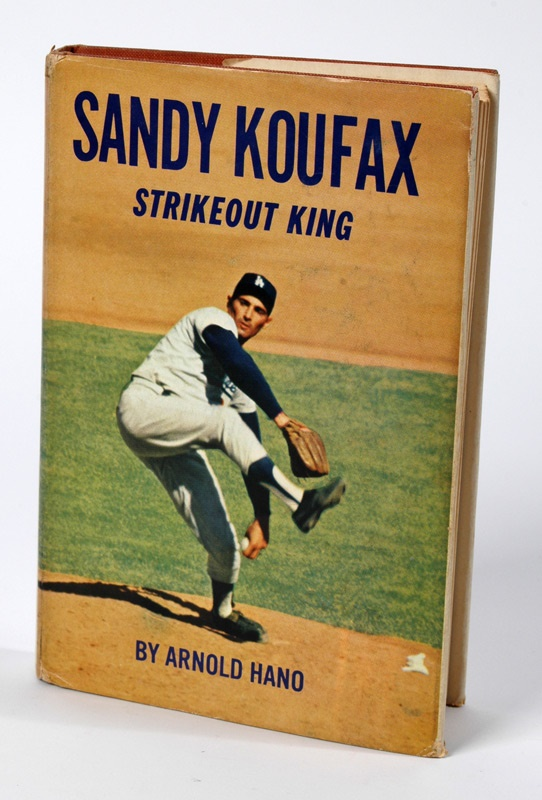Scarce 1964 Sandy Koufax Book with Original DJ