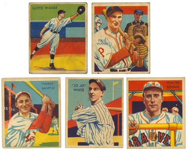 Collection of (27) 1934-36 Diamond Stars w/ Hofers