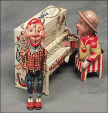 Howdy Doody Band Wind-up Toy