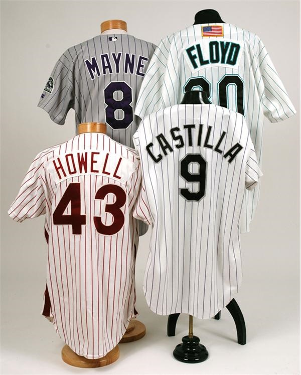 Baseball Game Used Jersey Collection With Cliff Floyd (4)