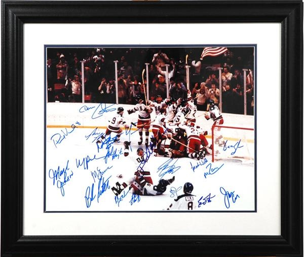 1980 Miracle on Ice Signed Collection (3)