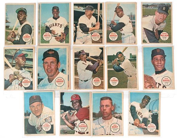 1967 Topps Pin-Ups Complete Set (32)