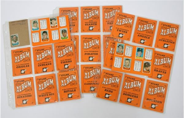 Collection of 1969 Mini Stamp Albums With 240 Stamps