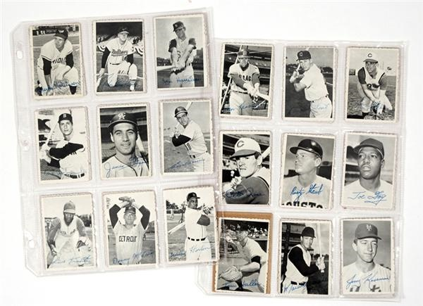 1969 Topps Deckle Edge Complete Set of 33 Plus 2 dupes