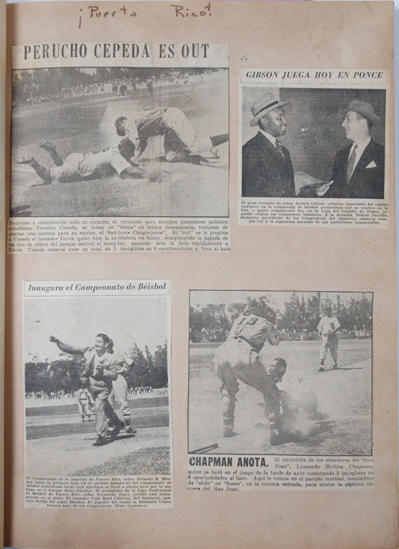 1940s Negro League Scrap Book Collection (6)