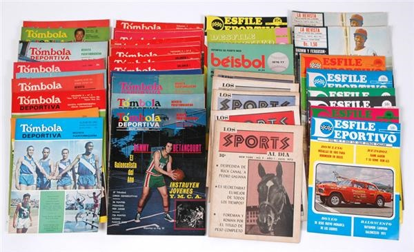 Lot of Puerto Rican Sports Publications (39)