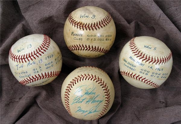 Game Used Baseballs - June 2005