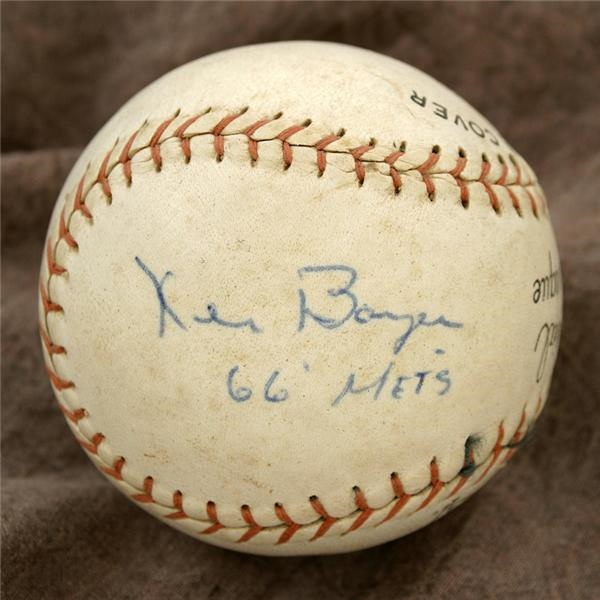 Single Signed Baseballs - June 2005