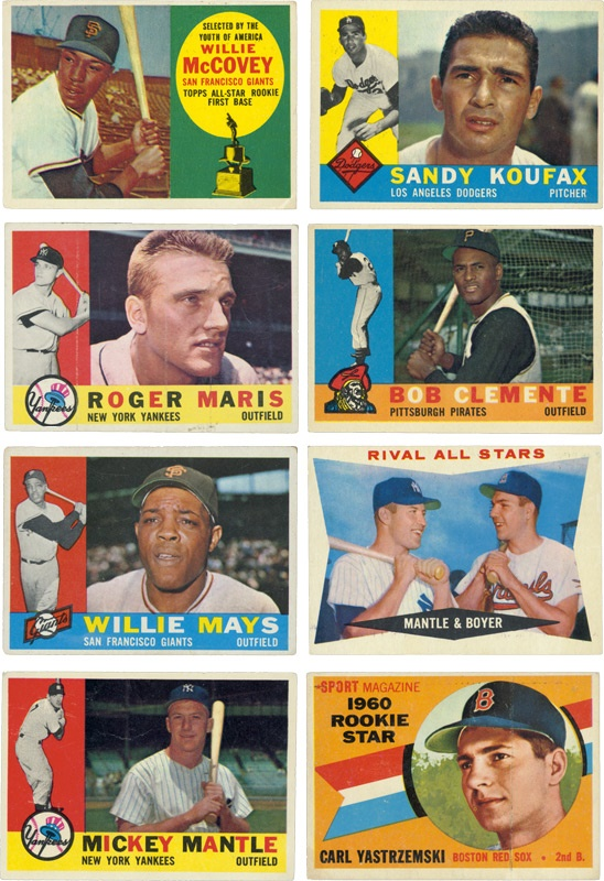 Post War Baseball Cards - June 2005