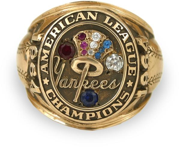 1964 New York Yankees American League Championship Ring