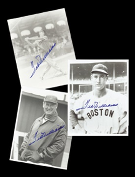 Ted Williams - April 2001